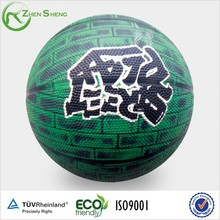 Zhensheng Small Size Basketballs Rubber Balls