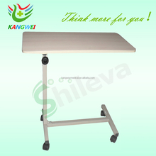 Popular Adjustable Hospital Over Bed Table/0verbed Table, Dining Table