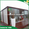 single storey container house building
