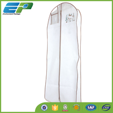 Long dress cover with clear PVC pocket