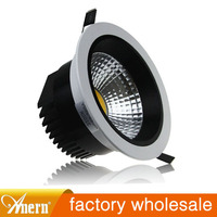 wholesale newest Anti glare 3w 5w 7w 10w 12w recessed downlight e27