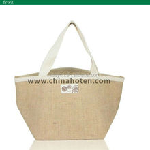 eco friendly jute promotional shopping bag jute bag importers