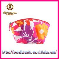 Promotional fashion korea cosmetic bag for women