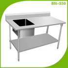 Bn-s30 cozinha mesa de preparação, pias de lavar, tabela de pia