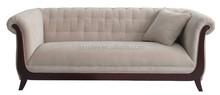 European style hot sale hotel furniture sofa reclining lounge sofa set with armrest