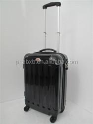2015 new arrival shiny luggage suitcase holdall case bag