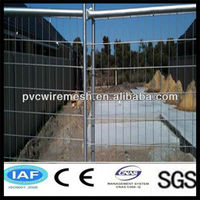 (ISO 9001:2008) Hot dip galvanized/zinc coated Removable Portable Temp Fence with frame (Hot sale)