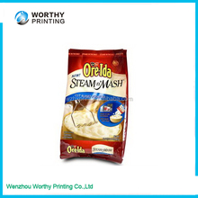Custom design color cereal bar packaging 321,