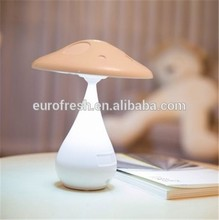 Cute mushroom shape LED touch table lamp for reading and study