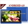 7 pulgadas android capacitivo Q88