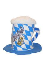 Carnival foam fun hat/Oktoberfest got beer hat HT 8043