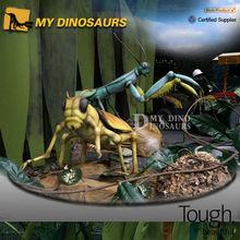 Auténtico animados grande tamaño de insectos escultura