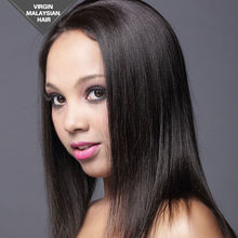No Chemical Processing Virgin Hair Premium Quality Free Style Full Hand Tied 100% Virgin Remy Human Hair Wigs
