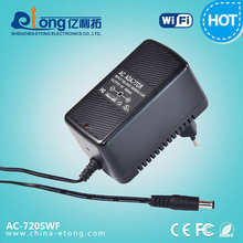 Playback/real-time security mobile view ac adaptor 1.0mp pinhole Invisible hidden camera with wifi AP