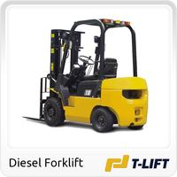 1.5 Ton diesel forklift with japan engine