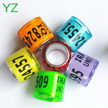 2015 Rings Poultry Plastic Bands 8mm racing pigeon rings for sale with cheapest price