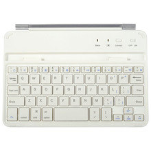 2015 China Factory Aluminum Slim Bluetooth Wireless Keyboard Smart Cover For Ipad Mini