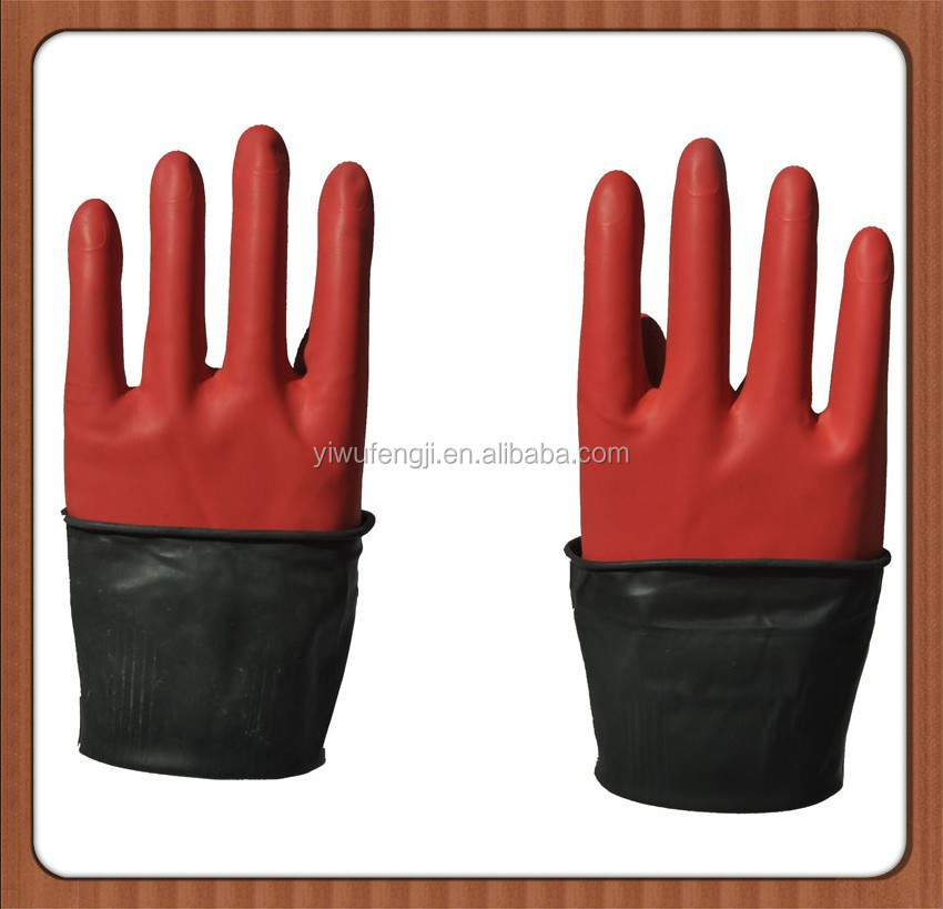 Wj43 70g wholesale gloves oil resistant gloves thick for Fish cleaning gloves