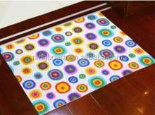 High Quality PVC Anti Slip Mat / Printed PVC Foam bath mat