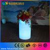 illuminated planters outdoor led flower pot luminous pots