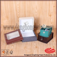 Custom new product gift packaging paper jewelry box