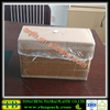 Clear elasticated dustproof square carton cover