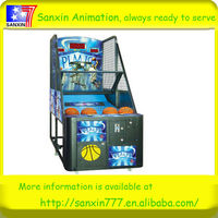 2014 newest coin operated hot sale electronic basketball game machine