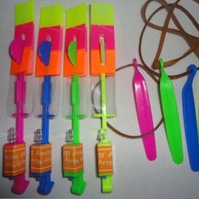 New Speical Colorful Fashion Hot Spin LED Light Magic Outdoor Toy Flying Arrow