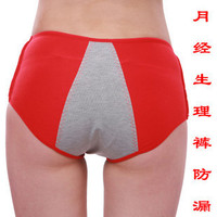 1311 sexy ladies fashion underwear women menstrual butt panty for wholesale Brazil cute girls bamboo function antiseep briefs
