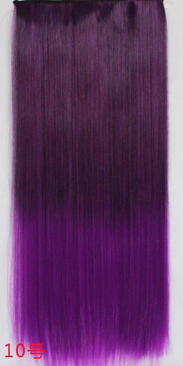 Charming parrucca cosplay ombre wigs heat resistant long straight wig