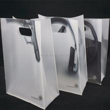 customized pvc handle bag, pvc plastic handle shopping bag, pvc plastic gift bag