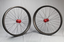 26er full carbon fiber fat bicycle wheelset for tire, carbon bicycle wheels, 80mm fatbike wheelset