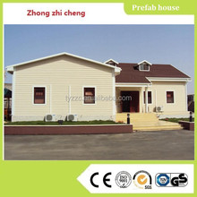 light steel structure prefab house for sale