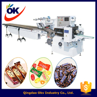 new dasign Multifunction biscuit/chocolate/pan cake packaging machine