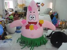 patrick star mascot costume for sale
