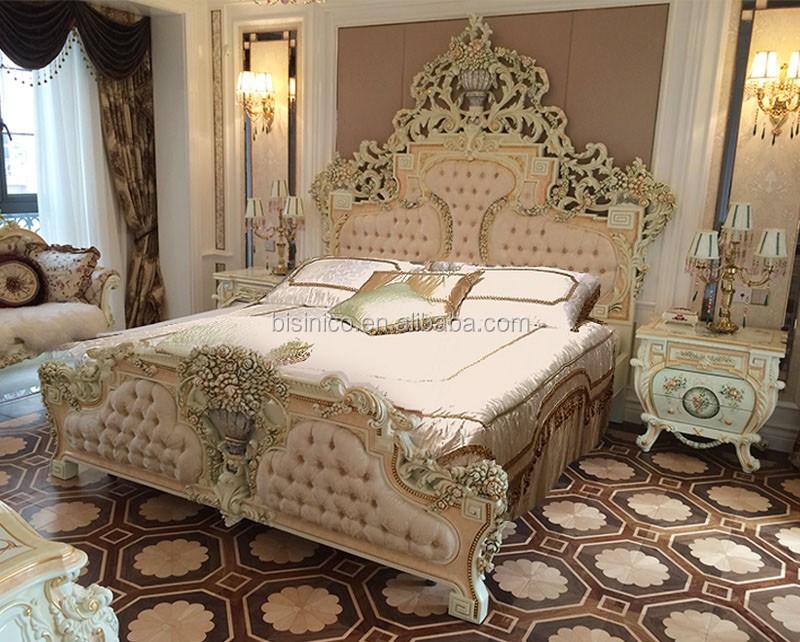 lujo italiano cama doble royal diseo francs cama king
