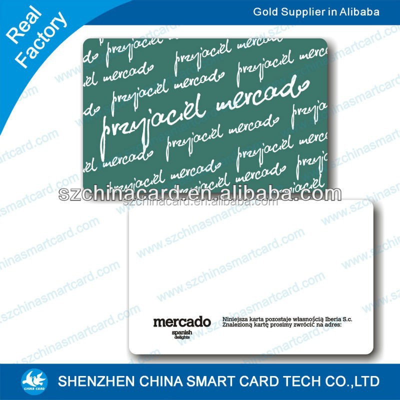 China Manufacturer Good Quality Pvc Blank Plastic Ic Card - Buy Blank ...