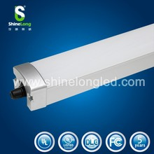 SMD 2835 1.2m 40w UL DLC TUV GS LED tri-proof light / vapor proof led light/ pakring lot led lighting