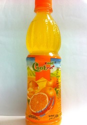 450ml OEM orange juice with pulp