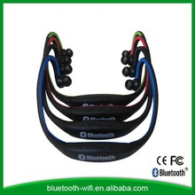 Colorful wholesale stereo bluetooth headset with mp3 player for bicycle helmet