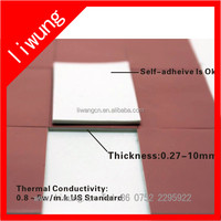 flexible thermal conductivity pad for heat transfer