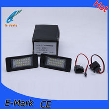 Plug and Play no wiring no modification q7 led light led license plate light