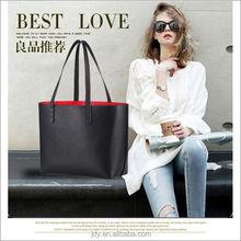 Black color Hiqh quality hand bags fashion Lady bag real leather handbags women bag