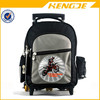 cool children fancy wheeled trolley school bag backpack for boys