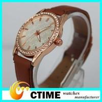 2014 Popular Classic Design Rose Gold Cheap Watches Men