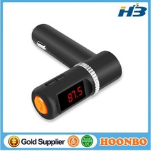 car kit BC08 Bluetooth LED Display FM Transmitter MP3 Player Handsfree Car Kit with Dual USB Output charger sockets