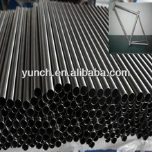 titanium bicycle frame pipe ti-3al-2.5v sample available