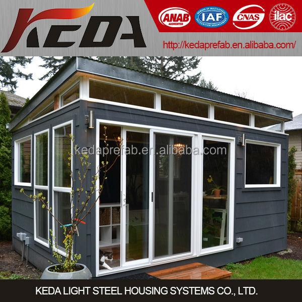 light steel villa steel frame studio office shed kiosk