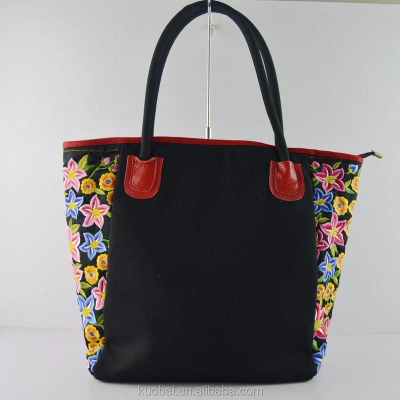 Bolsa De Mão Tendencia : Tend?ncia nacional bordado hmong bolsa sacos artesanais de