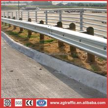 galvanized steel fencing traffic barrier